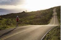 <p>Do I really need to sell you on a lush Hawaiian island as a good vacation destination? The Pacific island, created by a volcano, boasts plenty of hiking locales, waterfalls, beaches, and views of the ocean. At 727 square miles, there's plenty of ground to cover and paths to run.</p>