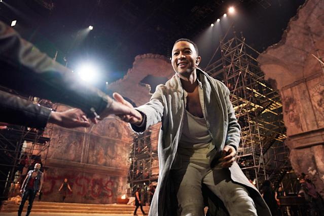 John Legend could earn an EGOT with <em>Jesus Christ Superstar</em> nod. (Photo: NBC)