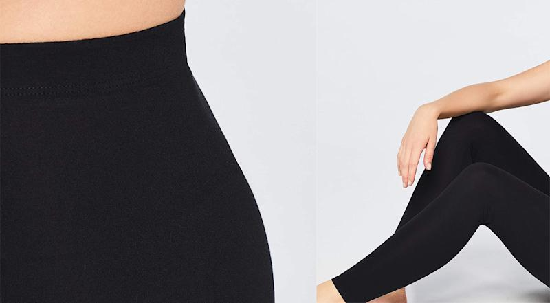 Thee Amazon brand leggings conform to your curves. (Photo: Amazon)