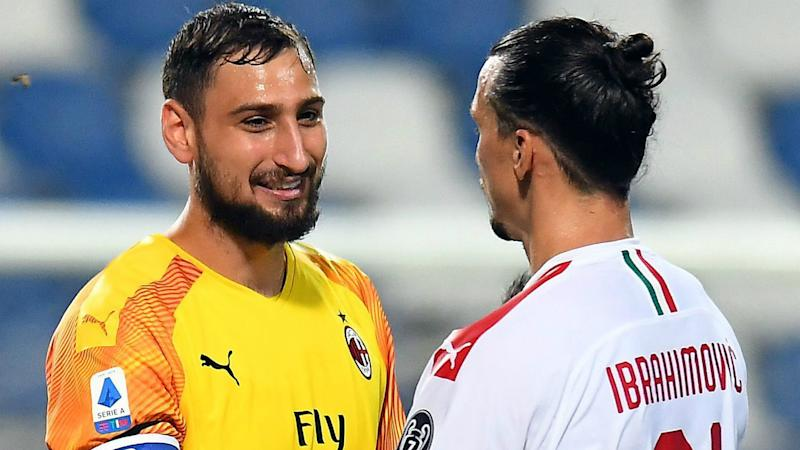 Milan discussing new Ibrahimovic and Donnarumma deals, says Massara