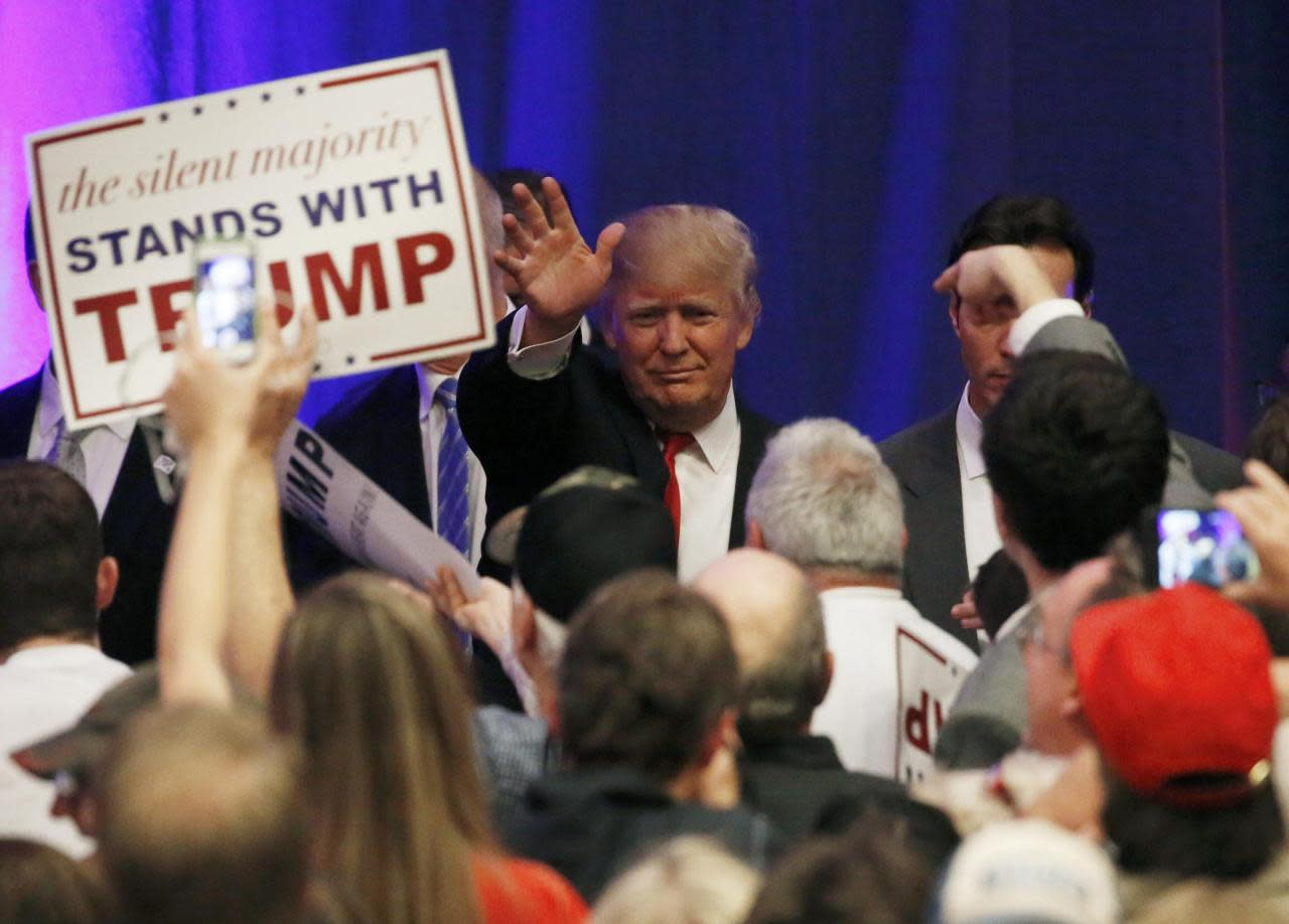 Donald Trump Takes Remaining Victory Lap In Alabama Cbs Information - Two senators now stand between trump and the gop nomination