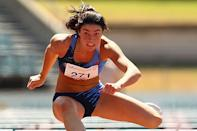 Australia's Michelle Jenneke at 19 is already an online video sensation thanks to her racy pre-race warm-up routine at the IAAF World Junior Championship in Barcelona. (File/Getty)
