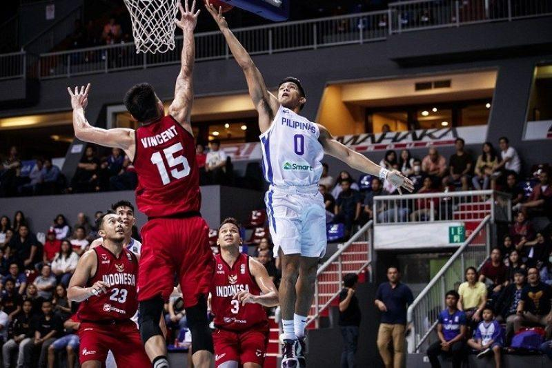 Gilas Pilipinas thrashes Indonesia in Fiba Asia Cup 2021 qualifiers