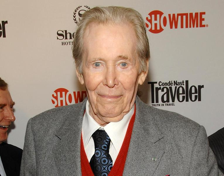 """FILE - This March 19, 2008 file photo shows actor Peter O'Toole attending the world premiere of the second season of Showtime's """"The Tudors"""", in New York. In a statement released Tuesday, July 10, 2012, the 79-year-old actor said he would retire from films and stage. """"The heart of it has gone out of me,"""" he said, adding, """"it won't come back."""" O'Toole won acclaim as a Shakespearian actor before rocketing to fame in """"Lawrence of Arabia."""" His last of eight Oscar nominations was in 2007 for the film """"Venus."""" (AP Photo/Evan Agostini, file)"""