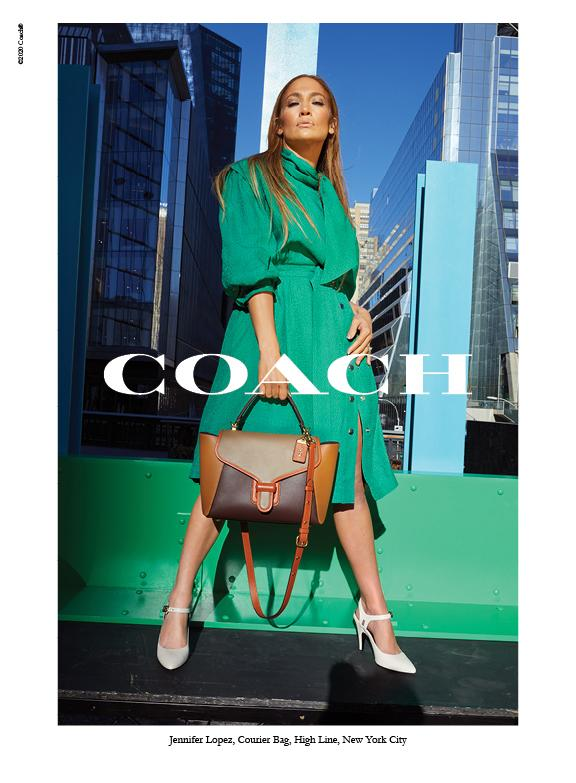 Jennifer Lopez remains a brand ambassador for the Coach brand.