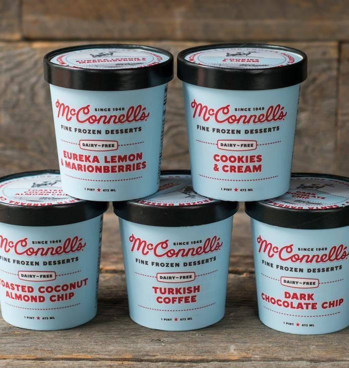 """<p>Wipe your chin, you're drooling. This Santa Barbara–based ice cream company has been around for 70 years and has achieved a total cult following. Now, dairy-free folks can enjoy, too, since the brand came out with five unreal plant-based flavors, including Turkish Coffee and Dark Chocolate Chip.</p><p><em>Our choice: Dairy-Free Toasted Coconut Almond Chip</em></p><p><a class=""""link rapid-noclick-resp"""" href=""""https://mcconnells.com/pages/dairy-free"""" rel=""""nofollow noopener"""" target=""""_blank"""" data-ylk=""""slk:BUY NOW"""">BUY NOW</a><br></p>"""