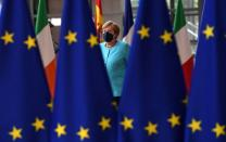 First day of the European Union summit in Brussels