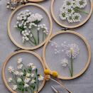 """Gift your crafty friend this DIY embroidery kit that will give them a break from the noise on social media. $15, Etsy. <a href=""""https://www.etsy.com/listing/825139957/plants-transparent-embroidery-kit-for"""" rel=""""nofollow noopener"""" target=""""_blank"""" data-ylk=""""slk:Get it now!"""" class=""""link rapid-noclick-resp"""">Get it now!</a>"""