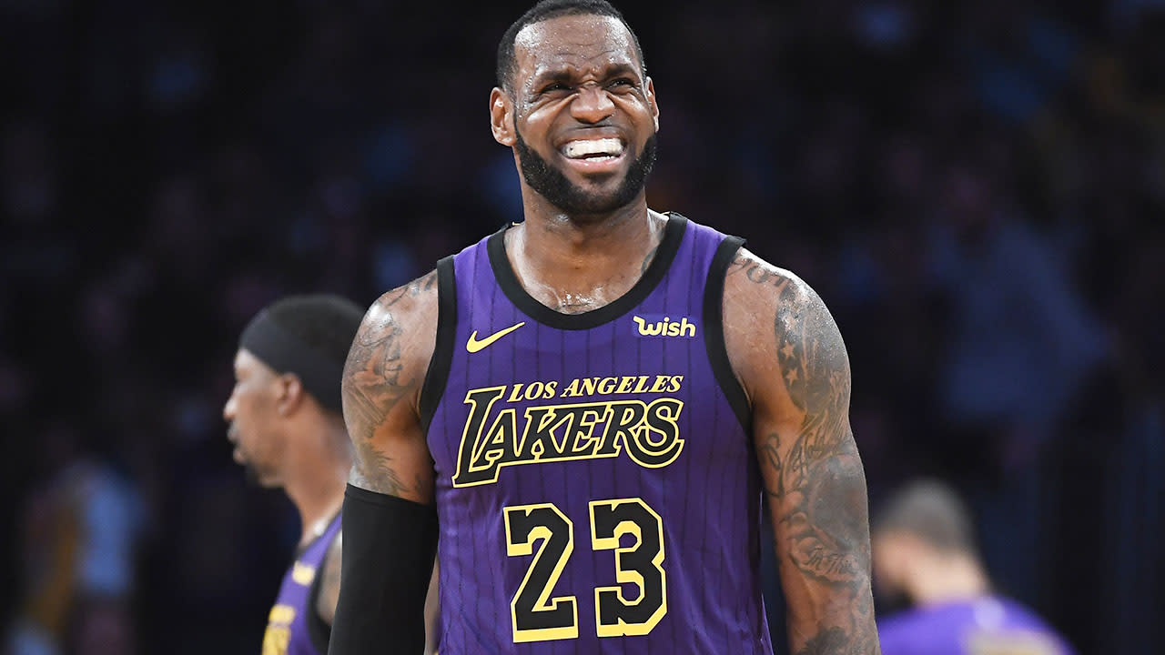 083650f62c57 LeBron James to miss NBA playoffs for first time since  05