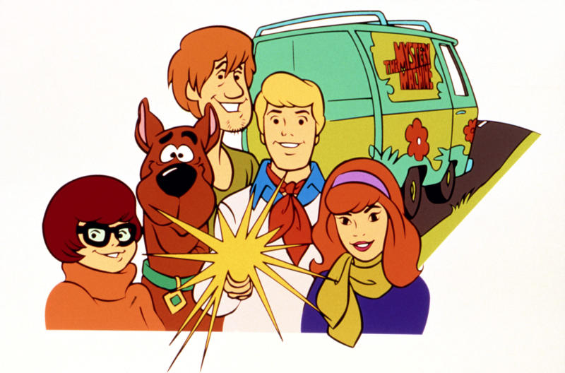 The Scooby-Doo franchise celebrates its 50th anniversary this year. Here's how the Scooby gang looked in 1969. (Photo: Everett Collection)