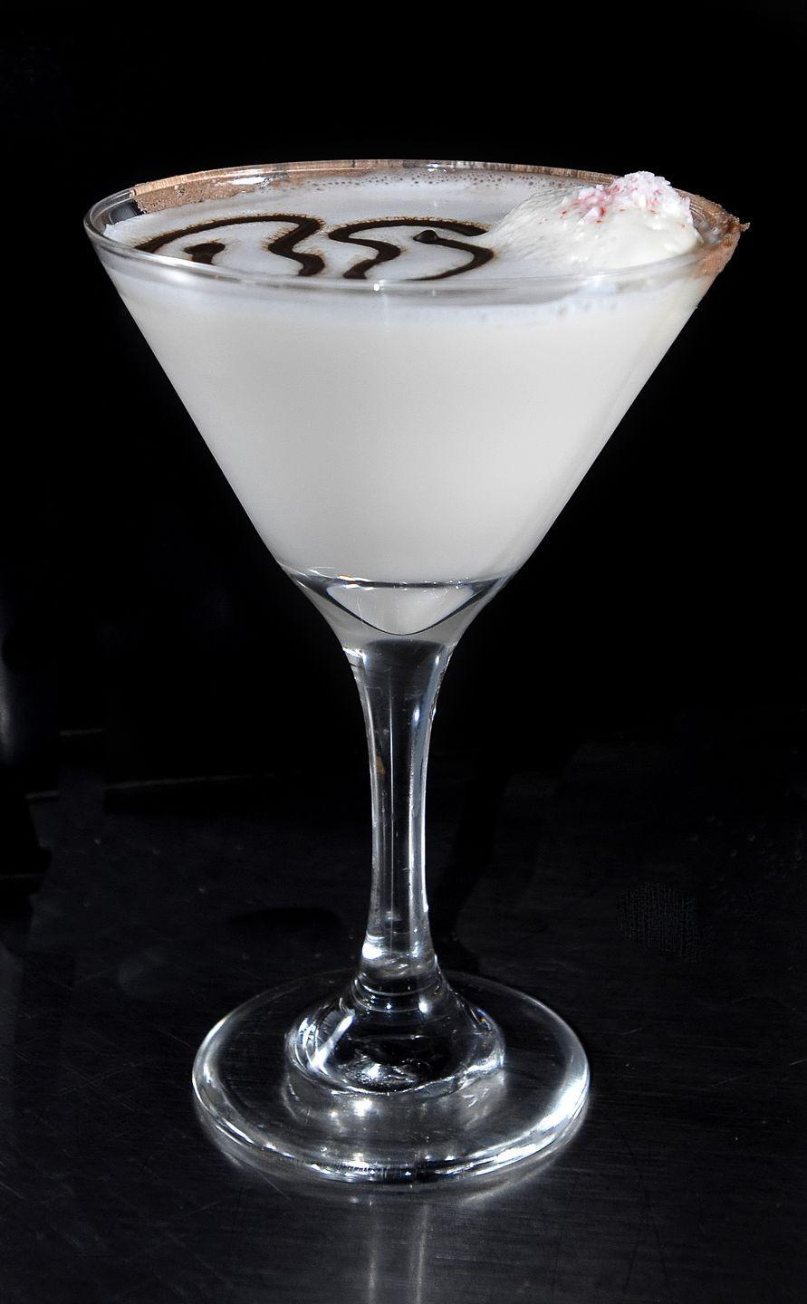 "<p>""I am obsessed with chocolate-peppermint martinis. First, martinis are my favorite drink; they're my medicine of choice. Second, I am a huge chocoholic. Third, I love peppermint. Put them all together, and I am in heaven. Another perfect way to make the holidays special!"" – <a href=""http://davidmeister.com/"" rel=""nofollow noopener"" target=""_blank"" data-ylk=""slk:David Meister"" class=""link rapid-noclick-resp"">David Meister</a>, fashion designer.</p><p><strong>David's Martini Recipe</strong></p><p><strong>Ingredients: </strong><br>2 ounces vodka</p><p>1 ounce white crème de menthe</p><p>1 1/2 ounces white chocolate liqueur</p><p>1 ounce peppermint liqueur</p><p>2 small peppermint patty candies, for garnish <br></p><p><strong>Directions: </strong><br>Combine vodka, crème de menthe, chocolate liqueur, and peppermint liqueur. Shake well. Pour into a martini glass. Garnish with peppermint patty candies.</p>"