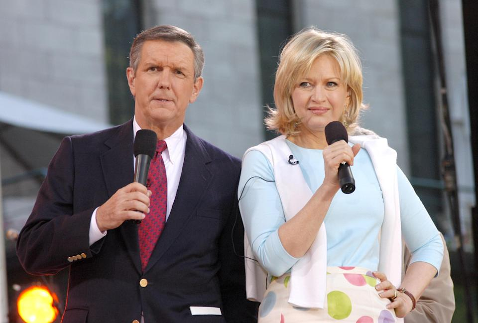 """Charlie Gibson and Diane Sawyer were long-standing co-anchors of """"Good Morning America."""" (Photo: Getty Images)"""