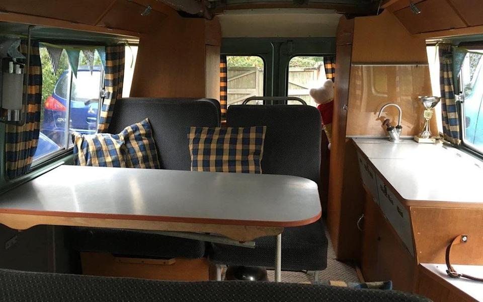 1961 Commer Maidstone camper, one of only four left on British roads