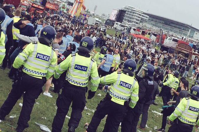 Epsom Derby: The event was marred by violence
