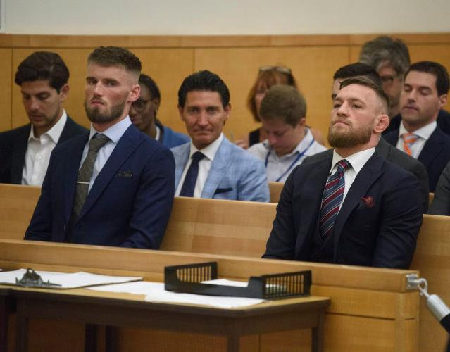 <p>McGregor made a reported $85 million from the Mayweather fight, and immediately started making the wrong type of news. He was caught using a homophobic slur at a UFC event in October 2017 for which he later apologized; had an alleged incident with an Irish mobster in November; and later that month caused a scene at a Bellator event by jumping into the cage and making a run at referee Marc Goddard. The low point came in April. Nurmagomedov's team had a run-in with McGregor ally Artem Lobov at the fighter hotel on the week of UFC 223 in Brooklyn. McGregor's response to this was to charter a private jet, fly out to New York with several associates, and then launch an assault on a van carrying Nurmagomedov and several other fighters on the card. McGregor was charged with a felony and three misdemeanors as a result of his actions, which injured several people. After settling the charges and being cleared to fight, the UFC wasted no time booking McGregor vs. Nurmagomedov. </p>