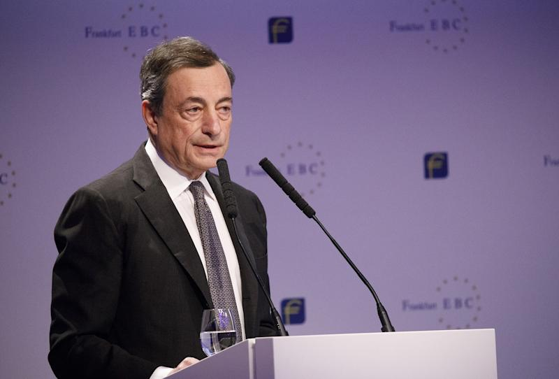 Euro jumps after European Central Bank  softens stimulus view