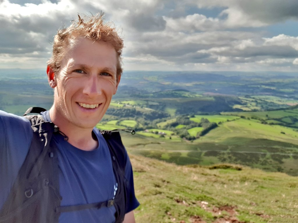 In 2013, Renwick became the youngest person to walk around the perimeter of Wales (Will Renwick)