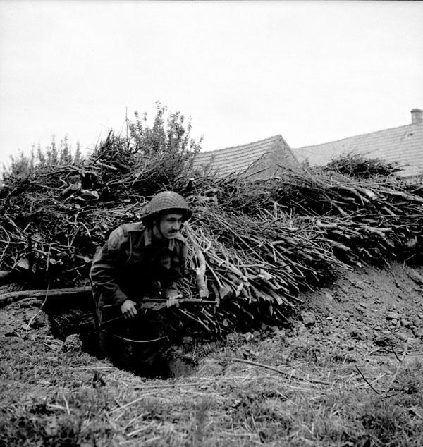 <p>Photographer: Bell, Ken.<br /> Location: Normandy, France<br /> Date: June 9, 1944<br /> Credit: Library and Archives Canada </p>