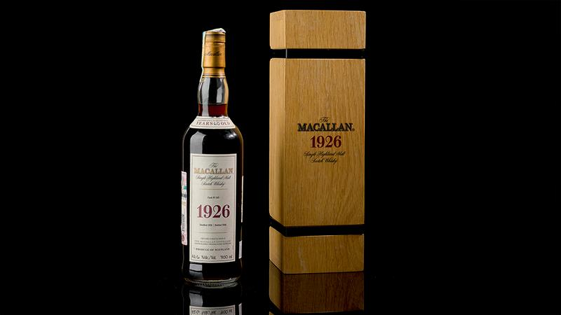 World's most expensive bottle of whisky sells for £1.5m