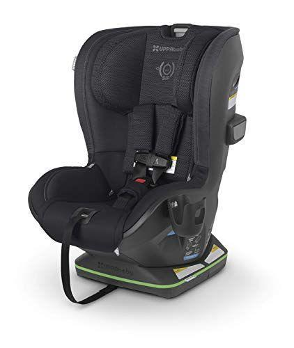 """<p><strong>UPPAbaby</strong></p><p>amazon.com</p><p><strong>$349.99</strong></p><p><a href=""""https://www.amazon.com/dp/B08YQQHS8G?tag=syn-yahoo-20&ascsubtag=%5Bartid%7C10055.g.36283379%5Bsrc%7Cyahoo-us"""" rel=""""nofollow noopener"""" target=""""_blank"""" data-ylk=""""slk:Shop Now"""" class=""""link rapid-noclick-resp"""">Shop Now</a></p><p>This modern design boasts premium construction, with features including a multi-directional tether to reduce seat rotation, a no-rethread harness, 8-position headrest and 4-position recline. In road tests, our pros found that even though installation requires a bit more attention to the instructions, it <strong>fits well in a range of vehicle sizes and the brand's </strong><strong>SmartSecure System offers a great visual to confirm a secure fit</strong>. However, it's worth noting that this seat is not suited for newborns, with a minimum weight of 14 pounds. </p>"""