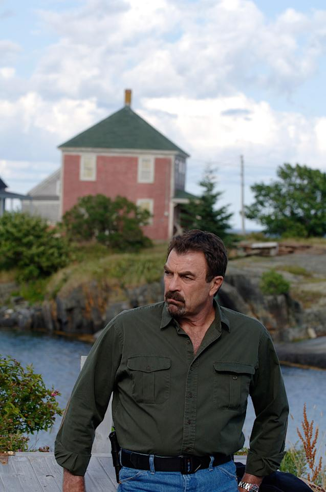 "<b>Jesse Stone, the ""<a href=""/jesse-stone-no-remorse/show/43651"">Jesse Stone</a>"" TV movies</b> — To date, Selleck has made seven of these TV movies — based on the series of books by Robert B. Parker — playing a former LAPD detective who was fired for his drinking problem. Stone has landed a job as police chief in the inaccurately named Paradise, Massachusetts, which is actually rife with crime. Doesn't he know that towns named things like ""Paradise"" and ""Pleasantville"" always turn out to be hellholes?"