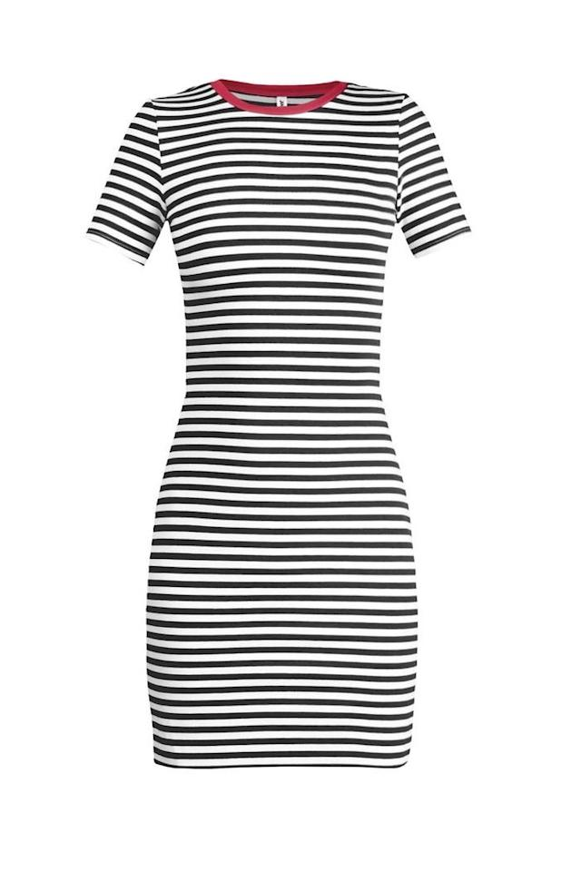 "<p><b>The Betty T-Shirt Dress </b>is packed with school pride, but it's subtle enough that you can wear it far beyond the stadium. Pair it with a denim jacket or sweater for cooler days or evening kickoffs. </p> <p><b>BUY IT</b>: $110; <a href=""https://janehudson.us/collections/dresses/products/betty-t-shirt-dress?variant=43178023688"">janehudson.us</a></p>"