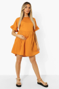 """<p>Have an online splurge without maxing out your cards at <a href=""""https://www.boohoo.com/maternity"""" rel=""""nofollow noopener"""" target=""""_blank"""" data-ylk=""""slk:Boohoo"""" class=""""link rapid-noclick-resp"""">Boohoo</a>. You can pick up everything from a printed maxi dress to mini smock-styles – all with fast delivery. </p><p>A chance to celebrate your changing silhouette and play with maternity trends - because shopping is fun.</p><p><a class=""""link rapid-noclick-resp"""" href=""""https://go.redirectingat.com?id=127X1599956&url=https%3A%2F%2Fwww.boohoo.com%2Fmaternity&sref=https%3A%2F%2Fwww.womenshealthmag.com%2Fuk%2Fhealth%2Fg36261049%2F16-best-maternity-clothes-and-brands-for-trendy-bumps%2F"""" rel=""""nofollow noopener"""" target=""""_blank"""" data-ylk=""""slk:SHOP NOW"""">SHOP NOW</a></p>"""