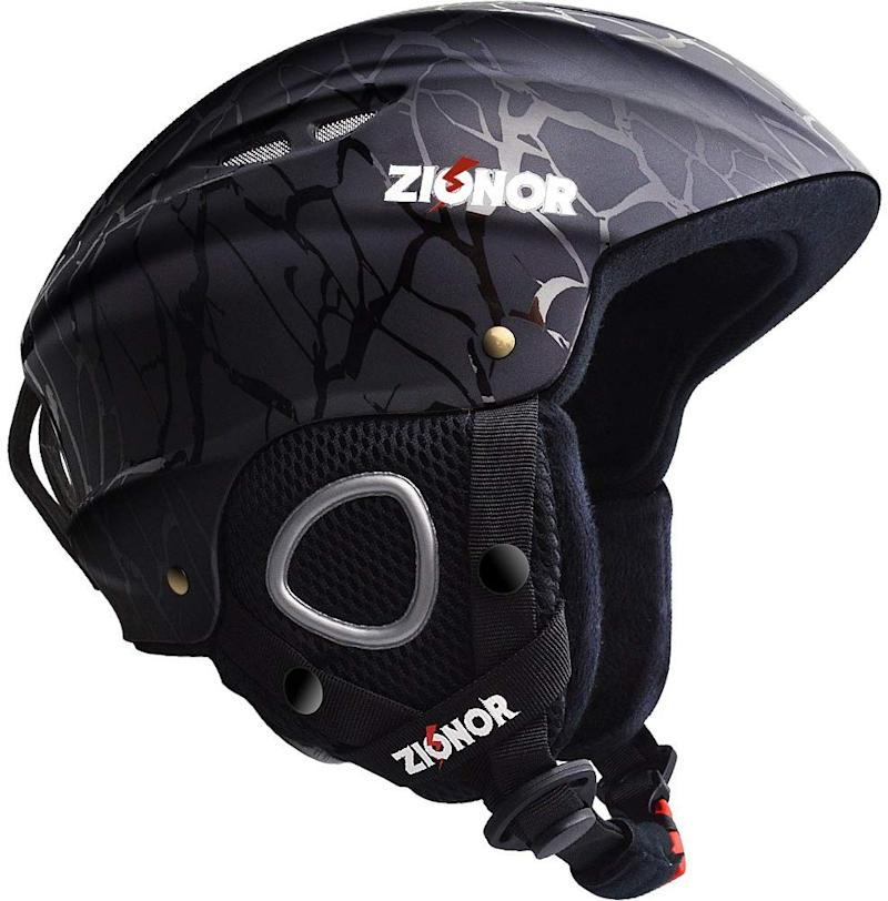 Complete with vent holes and a sweat-absorbent chin strap. (Photo: Amazon)