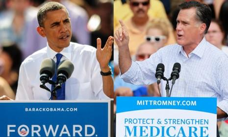 President Obama will face off against Mitt Romney on Oct. 3 in the first of three televised presidential debates.