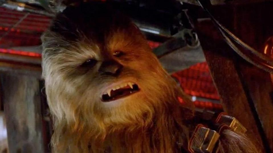 Let the wookie win... (credit: Lucasfilm)