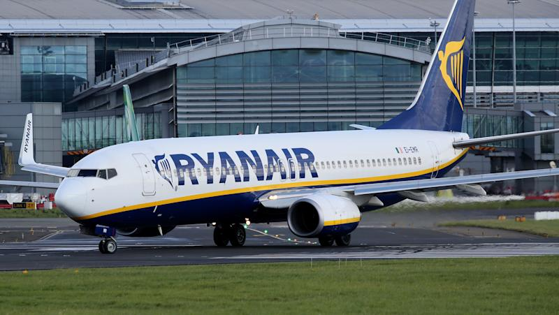 Un avion Ryanair photographié en septembre 2017. - Paul Faith - AFP
