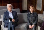"""<p>""""He just emanates this joie de vivre, and it's fabulous to be around him,"""" Hunter says of current <em>Mr. Mayor </em>costar Ted Danson. """"Everybody soaks that up."""" </p>"""