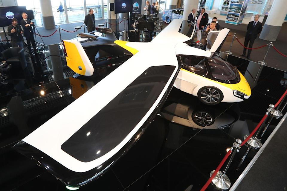 """<p>Changing from supercar to airplane <a href=""""https://www.aeromobil.com/"""" rel=""""nofollow noopener"""" target=""""_blank"""" data-ylk=""""slk:in less than three minutes"""" class=""""link rapid-noclick-resp"""">in less than three minutes</a>, the prototype AeroMobil flew for the first time in 2014. Flying cars have been promised for decades and the Slovakian company AeroMobil s.r.o. plans to deliver. The first 106 limited editions will cost about $1.5 million each and are slated to be delivered as early as 2023. </p>"""