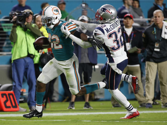 The Dolphins have had the Patriots' number over the past few seasons in Miami. (AP)