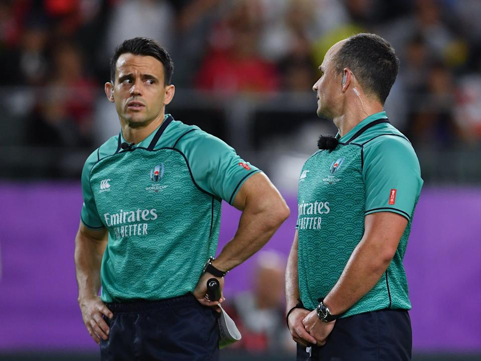Nic Berry, left, has been criticised heavily by South Africa boss Rassie Erasmus (Ashley Western/PA) (PA Archive)