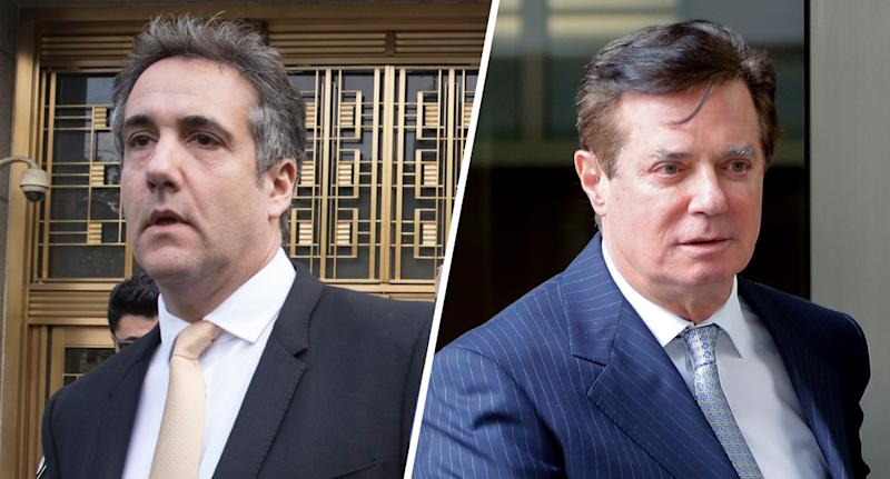 Michael Cohen; Paul Manafort