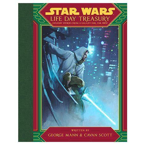 """<p><strong>Disney Lucasfilm Press</strong></p><p>amazon.com</p><p><strong>$15.49</strong></p><p><a href=""""https://www.amazon.com/dp/1368070884?tag=syn-yahoo-20&ascsubtag=%5Bartid%7C10055.g.29624061%5Bsrc%7Cyahoo-us"""" rel=""""nofollow noopener"""" target=""""_blank"""" data-ylk=""""slk:Shop Now"""" class=""""link rapid-noclick-resp"""">Shop Now</a></p><p>There's nothing better than holiday stories.A nd while """"Life Day"""" was once a joke after the disastrous <em><a href=""""https://www.esquire.com/entertainment/tv/a30246129/the-star-wars-holiday-special-1978-stream-online-disney-plus/"""" rel=""""nofollow noopener"""" target=""""_blank"""" data-ylk=""""slk:Star Wars Holiday Special"""" class=""""link rapid-noclick-resp"""">Star Wars Holiday Special</a></em>, it's not being reclaimed. Authors George Mann, Grant Griffin, and Cavan Scott — some whom were part of the team behind <em><a href=""""https://www.amazon.com/Star-Myths-Fables-Lucasfilm-Press/dp/1368043453/?tag=syn-yahoo-20&ascsubtag=%5Bartid%7C10055.g.29624061%5Bsrc%7Cyahoo-us"""" rel=""""nofollow noopener"""" target=""""_blank"""" data-ylk=""""slk:Star Wars: Myths & Fables"""" class=""""link rapid-noclick-resp"""">Star Wars: Myths & Fables</a></em> and <em><a href=""""https://www.amazon.com/Star-Wars-Dark-Legends-George/dp/1368057330?tag=syn-yahoo-20&ascsubtag=%5Bartid%7C10055.g.29624061%5Bsrc%7Cyahoo-us"""" rel=""""nofollow noopener"""" target=""""_blank"""" data-ylk=""""slk:Star Wars: Dark Legends"""" class=""""link rapid-noclick-resp"""">Star Wars: Dark Legends</a> — </em>have made eight new tales to tell around the holidays.</p>"""