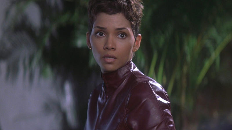 Halle Berry as Jinx in 2002 Bond adventure 'Die Another Day'. (Credit: Eon/MGM/Fox)