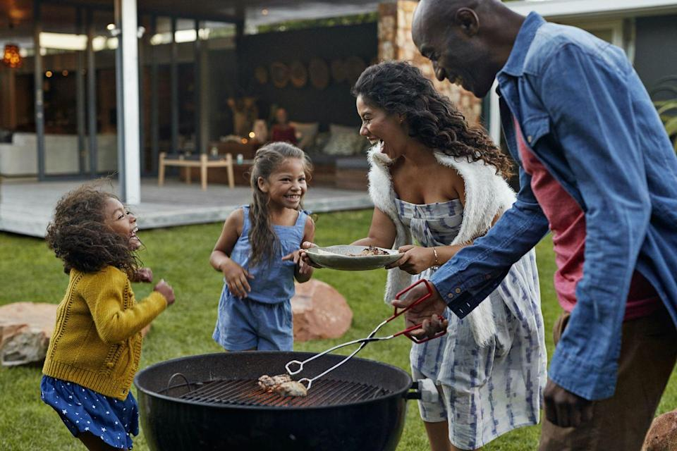 """<p>A backyard barbecue doesn't have to be a massive party for it to be an absolute blast. Weather permitting, pull out the grill and create an elaborate spread featuring some of your mom's favorite grilled <a href=""""https://www.womansday.com/food-recipes/food-drinks/g2373/vegetarian-recipes/"""" rel=""""nofollow noopener"""" target=""""_blank"""" data-ylk=""""slk:vegetable recipes"""" class=""""link rapid-noclick-resp"""">vegetable recipes</a> and <a href=""""https://www.womansday.com/food-recipes/food-drinks/g3033/hot-dog-recipes/"""" rel=""""nofollow noopener"""" target=""""_blank"""" data-ylk=""""slk:hot dog recipes"""" class=""""link rapid-noclick-resp"""">hot dog recipes</a>. </p>"""