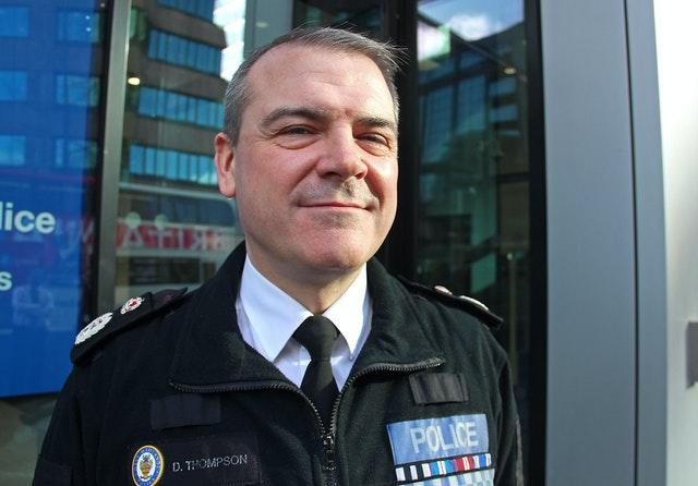 Chief Constable David Thompson interview