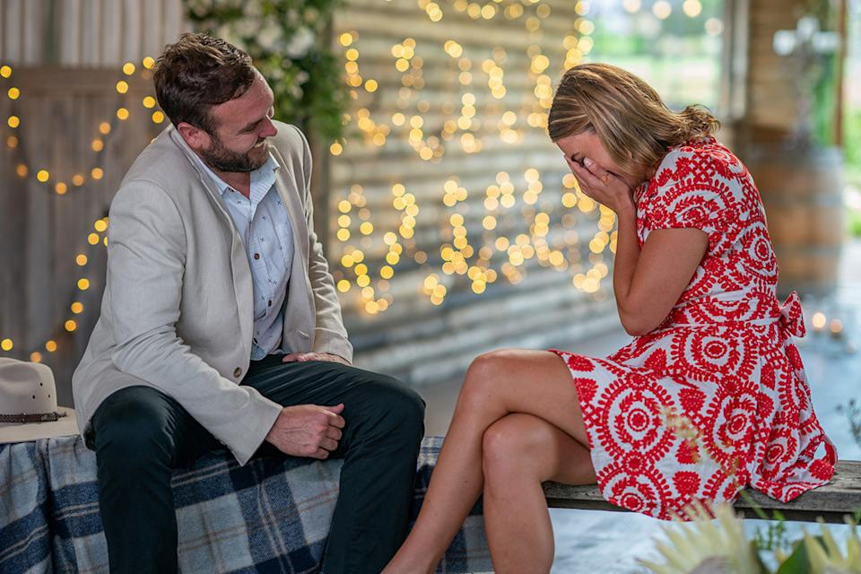 Andrew Guthrie and Jess Nathan on Farmer Wants A Wife S11 2021 Final Decision