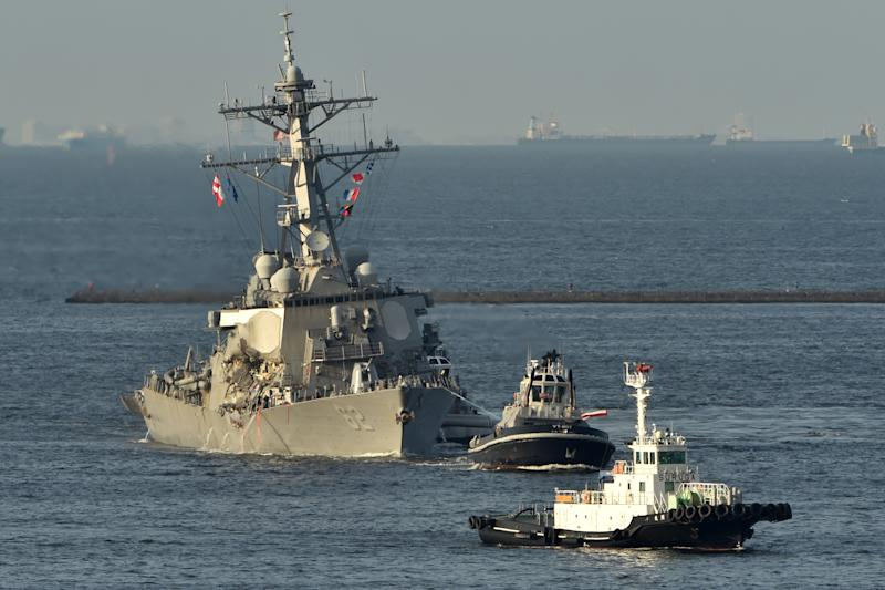 USS Fitzgerald Collision Likely Caused by 'Human Error,' Not Tech