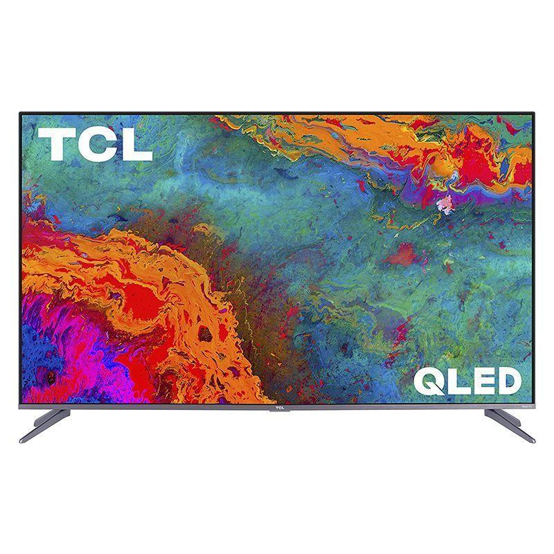 """<p><strong>TCL</strong></p><p>amazon.com</p><p><strong>$798.00</strong></p><p><a href=""""https://www.amazon.com/dp/B08857ZHY3?tag=syn-yahoo-20&ascsubtag=%5Bartid%7C10060.g.37203677%5Bsrc%7Cyahoo-us"""" rel=""""nofollow noopener"""" target=""""_blank"""" data-ylk=""""slk:Shop Now"""" class=""""link rapid-noclick-resp"""">Shop Now</a></p><p><strong>Key Specs</strong> </p><ul><li><strong>Screen sizes:</strong> 50, 55, 65, 75 in.</li><li><strong>Screen type:</strong> QLED</li><li><strong>Refresh rate:</strong> 120 Hz</li><li><strong>Ports:</strong> 4 HDMI, 1 USB</li><li><strong>Dimensions:</strong> 48.4 x 3.0 x 28.1 in. (55 in.)</li><li><strong>Weight:</strong> 26 lb. </li></ul><p>TCL offers a variety of affordable-yet-high-performing 4K TVs with plenty of bells and whistles. The TCL 5-Series 4K QLED Roku Smart TV (R535) is our top choice if you're on a budget. It uses Quantum Dot technology and Dolby Vision HDR for colors that are vivid, bright, and sharp, while meticulously optimizing image contrast. Also, Auto Game Mode provides a smooth gaming experience. You can also use the TV with Alexa and Hey Google. The TV supports Netflix, Hulu, the Roku Channel, and other internet services. </p>"""