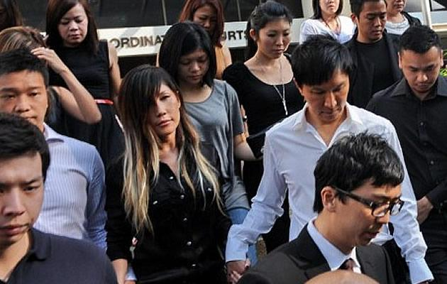 Kong and Sun leave the Subordinate Courts