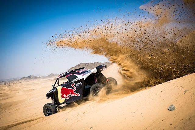 """#409 Overdrive Racing OT3: Blade Hildebrand, Francois Cazalet <span class=""""copyright"""">Red Bull Content Pool</span>"""