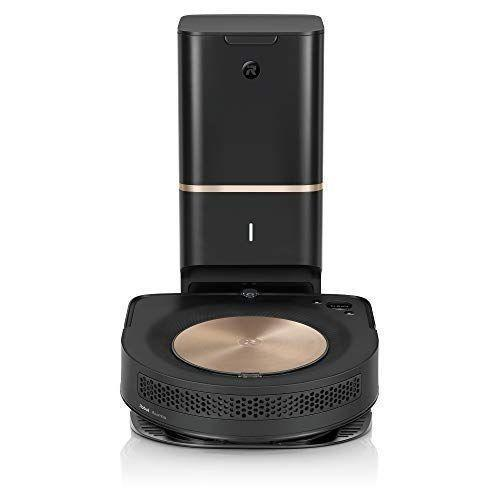 """<p><strong>iRobot</strong></p><p>amazon.com</p><p><strong>$1149.99</strong></p><p><a href=""""https://www.amazon.com/dp/B08DYW417W?tag=syn-yahoo-20&ascsubtag=%5Bartid%7C10055.g.1833%5Bsrc%7Cyahoo-us"""" rel=""""nofollow noopener"""" target=""""_blank"""" data-ylk=""""slk:Shop Now"""" class=""""link rapid-noclick-resp"""">Shop Now</a></p><p>In our Cleaning Lab tests,<strong> the 9+ picked up 99% of the uncooked oatmeal, sand, baking soda and small nuts and screws we spread on hard floors.</strong> It can map and remember multiple rooms and floor plans and it beat all other <a href=""""https://www.goodhousekeeping.com/appliances/vacuum-cleaner-reviews/a25227407/best-robot-vacuum/"""" rel=""""nofollow noopener"""" target=""""_blank"""" data-ylk=""""slk:robot vacuums"""" class=""""link rapid-noclick-resp"""">robot vacuums</a> for quickly and effectively spot cleaning a small area. It detects carpet automatically to ramp up suction only when needed, and its dual rubber roller brushes won't clog with pet hair like bristles have a tendency to do. </p><p>When it's finished cleaning, the vacuum returns to its charging base and dirt is automatically transferred into a large-capacity bag for mess-free disposal: it seals completely before you toss to keep dust and dirt contained.</p>"""