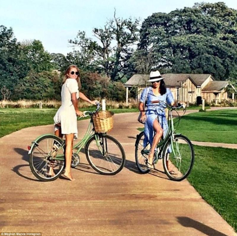 Made in Chelsea star Millie Mackintosh has been rumoured to be one of Meghan's bridesmaids. Photo: Instagram/Meghan Markle