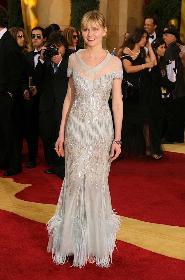 WORST: Kristen Dunst at the 79th Annual Academy Awards - 02/25/2007