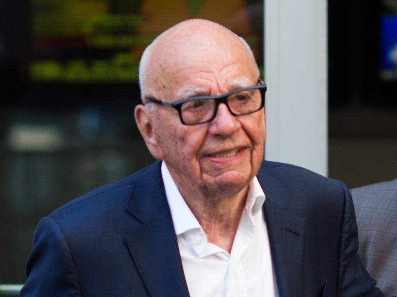 Rupert Murdoch: in 1952, when he was a young socialist, the future newspaper baron was blocked from being secretary of Oxford's Labour Club by Kaufman: Getty