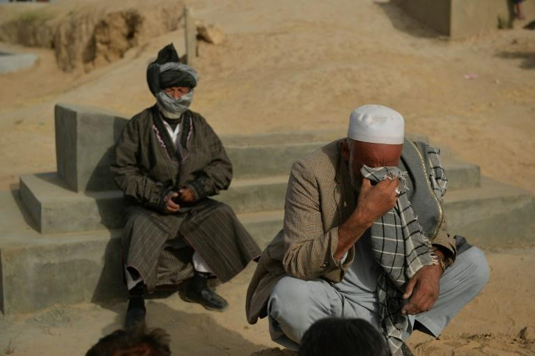 Loved ones came to mourn the dead (AFP/Hoshang Hashimi)